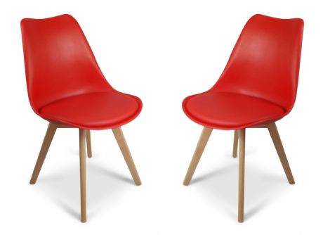 Red Toulouse Tulip Eiffel Style Dining Chairs Sale Now On Your Price Furniture